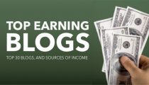 Top Earning Blogs – Make Money Online Blogging