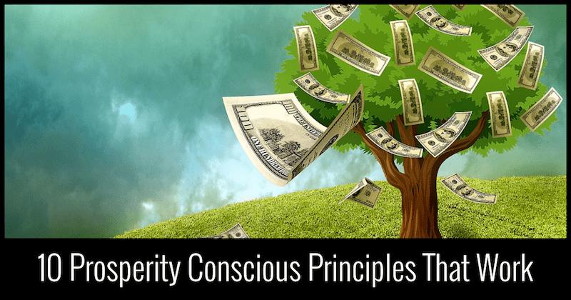 Prosperity Conscious Principles