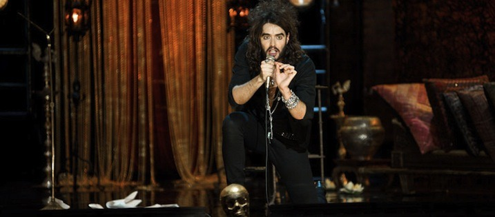 Russell brand involving the audience