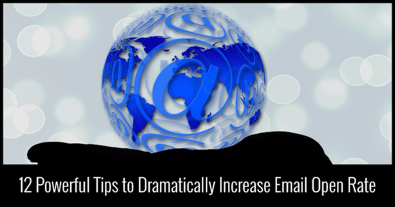 increase open rate in emails