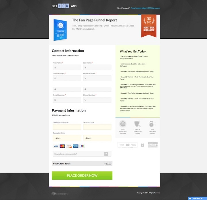 10 Ways SamCart Will Increase Your Checkout Page Conversions