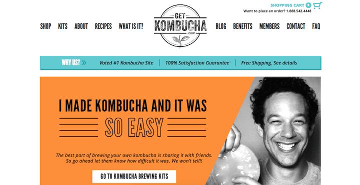 get kombucha