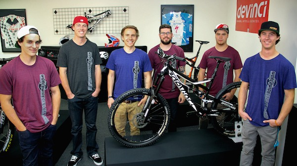 Jeff Cayley and Worldwide Cyclery Team