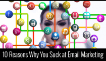 10 Reasons Why Your Email Marketing Conversion Rate Sucks!
