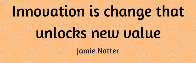 Affliate Marketing - L'innovazione è un cambiamento che sblocca un nuovo valore