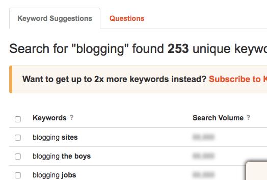 Find Blog Post Ideas