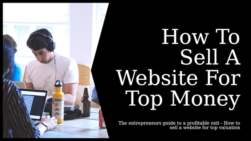 sell a website