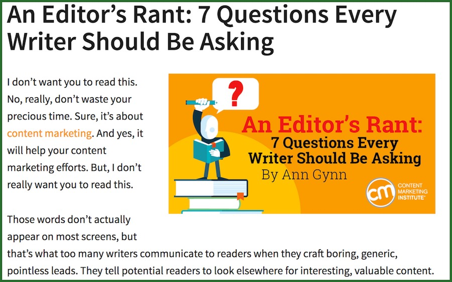 great content writers ask questions
