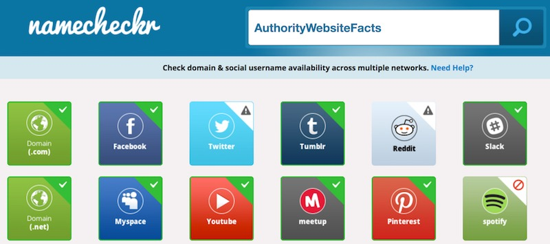 Authority Website Facts