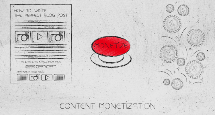 ways to make money with great blog content